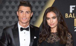 Cristiano Ronaldo with Irina Shayk