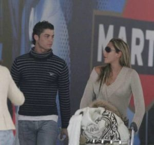 Cristiano Ronaldo with Marche Romero