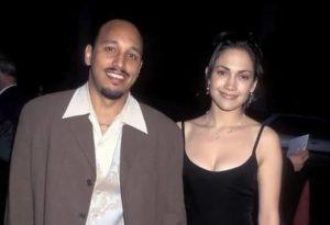 Jennifer Lopez with David Cruz