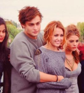 Douglas Booth with Miley Cyrus