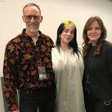 Billie Eilish with her Parents