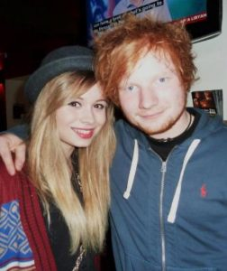 Ed Sheeran with Nina Nesbitt