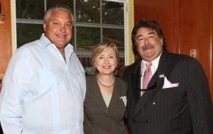 Hillary Clinton with her Brothers