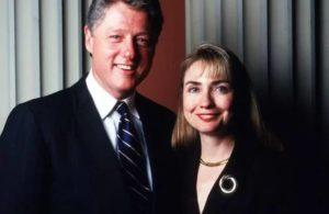 Hillary Clinton with Bill Clinton