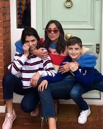 Dua Lipa with her Brother & Sister