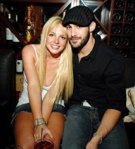 Britney Spears with Isaac Cohen