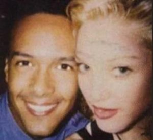 Madonna with James Albright