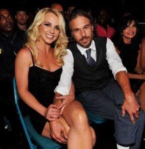 Britney Spears with Jason Trawick