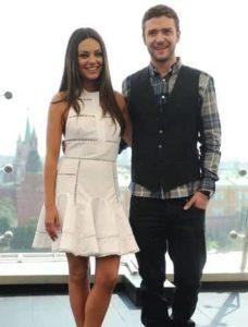 Justin Timberlake with Jenna Dewan Tatum