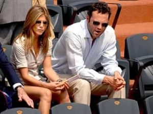 Jennifer Aniston with Vince Vaughn