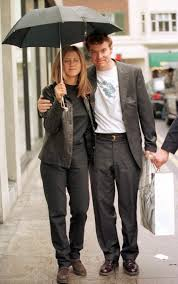Jennifer Aniston with Tate Donovan