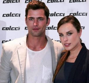 Sean O'Pry with Jessica McNamee