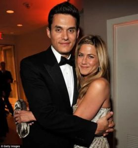 Jennifer Aniston with John Mayer