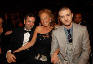 Justin Timberlake with his Parents