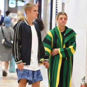 Justin Bieber with Sofia Richie