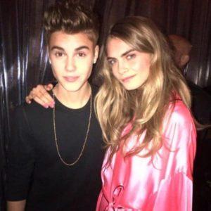 Justin Bieber with Rita Ora