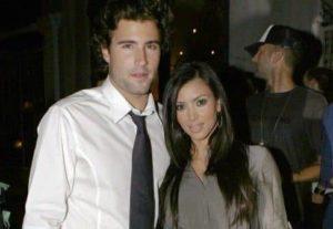 Kim Kardashian with Brandon Jenner