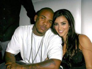 Kim Kardashian with Game