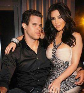 Kim Kardashian with Kris Humphries