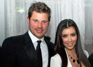 Kim Kardashian with Nick Lachey