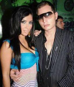 Kim Kardashian with Scott Storch