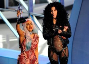 Lady Gaga with Cher