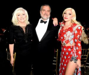 Lady Gaga with her Parents
