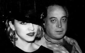 Madonna with Mark Kamins