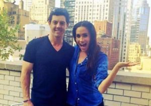 Meghan Markle with Rory McIlroy