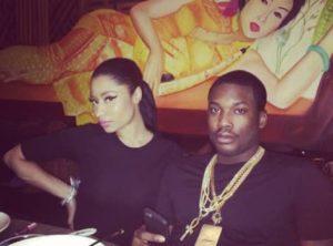 Nicki Minaj with Meek Mill