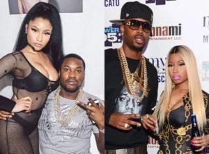 Nicki Minaj with Safaree Samuels