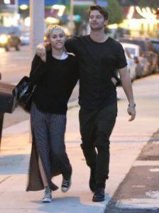Patrick Schwarzanegger with Miley Cyrus