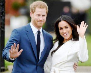 Megan Markle with Prince Harry