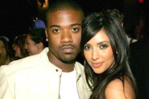 Kim Kardashian with Ray J