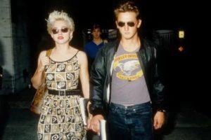 Madonna with Sean Penn