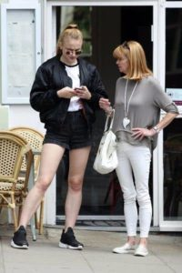 Sophie Turner with her Mother