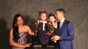 Stephen Curry with his Wife and Kids