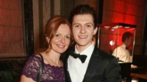 Tom with his mother Nicola