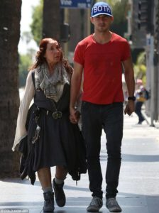 Shia Labeouf with his Mother