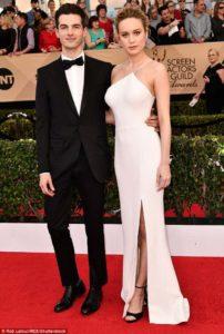 Brie Larson with Alex Greenwald