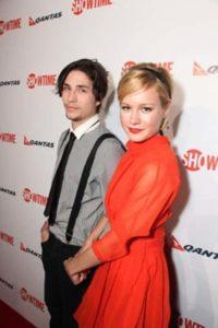 Brie Larson with John Patrick Amedori