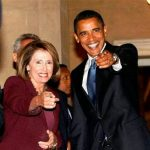 Nancy with Barack Obama