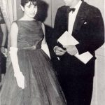 Nancy with John F. Kennedy