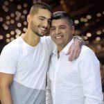 Maluma With His Father