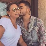 Maluma With His Mother