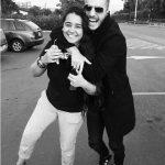 Maluma With His Sister