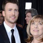 Chris Evans With Mother