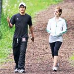Emma Watson with Johnny Simmons