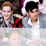 Emma Watson with Rafael Cebrián