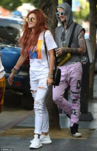 Lil Peep and Bella Thorne